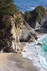 McWay Falls - Big Sur, CA (russ david) Tags: mcway falls big sur ca california waterfall pacific ocean june 2018