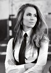 Ivaila_Bakalova_01 (osstdzess) Tags: woman women girl lady shirt tie necktie business boss