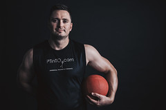 Personal Fitness Trainer Portrait (personaltrainertoronto) Tags: personal trainer fitness model fit muscles bodybuilder athlete athletic portrait pose