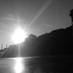 Leuchtturm Rissen, Unterfeuer, Elbe thumbnail