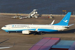 MF B738 B-1709 @ MF8678 (EddieWongF14) Tags: xiamenairlines boeing boeing737 boeing737ng boeing737800 boeing73785c b737 b737ng b738 737 737ng 738 737800 73785c b1709 mfm vmmc macauinternationalairport