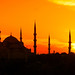 Beautiful Istanbul at Sunset