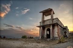 "Borgo Morfia - La ""Città Fantasma"" (AndreaCT78) Tags: morfia città fantasma francavilla chiesa sunset tramonto"