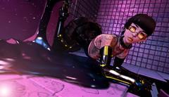 Sometimes healing isn't possible. (Chobpit) Tags: scifi sci fi cyber cyberpunk punk cyborg robot d18 character