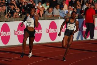 Phyllis Francis 200m Liège