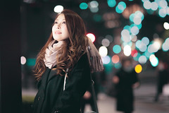 portrait girl (fukuyoshi35) Tags: 都会 東京 bills ビル ポートレート 日本 美しい beautiful canon sigma 有楽町 東京駅 tokyo portrait