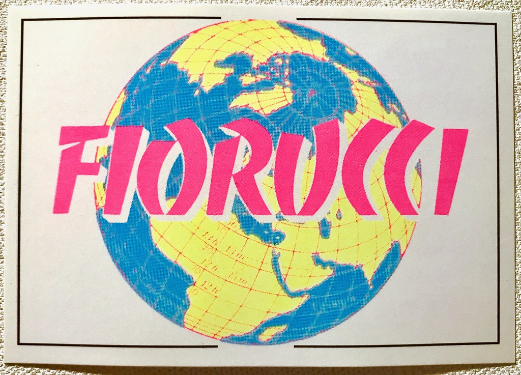 The worlds best photos of 1980s and stickers flickr hive mind 1984 fiorucci sticker by panini fiorucci story series christian montone tags gumiabroncs