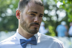 Dapper Gentleman (kleczkat) Tags: micah alberti actor famous wedding engagement bowtie man male picture photography mirrorless a7rii sony handsome