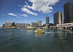 Transport Hub (fantommst) Tags: lisaridings fantommst nsw australia aus sydney waterfront harbour circular quay ferry boat buildings waterscape