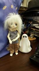 SpookattheLibrary (keltora) Tags: dollzonebabyraphael spook simon ghostboy spiritfriend