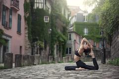 (dimitryroulland) Tags: nikon d600 85mm 18 dimitryroulland green pink natural light montmartre paris france yoga yogi performer art artist street urban city