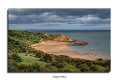 Cayton Bay (Nickerzzzzz - Thanks for stopping by :)) Tags: ©nickudy nickerzzzzz theartofphotography wwwdigittaliacom canoneos70d efs1585mmf3556isusm sea rocks sand seascape landscape water sky photograph clouds yorkshire beach scarborough caytonbay