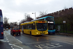 69363-01 (Ian R. Simpson) Tags: yj08xyb volvo b7rle wright eclipseurban firstyork firstgroup first bus yorkbybus advert 69363 york yorkshire england