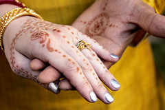 2018-08-11 Hands tell a story (Mary Wardell) Tags: hands henna wedding connection closeup story canon80d