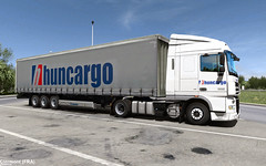 Huncargo - Clermont (FRA) (gibanica87) Tags: daf xf 105 clermont france ets2 euro truck simulator 2 gibanica promods