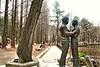 HBM  -- (Erlinda D Yuson) Tags: sculpture bench garden trees linda yuson south korea