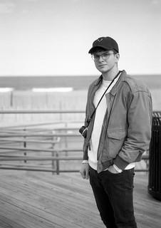 Photographer on the Boardwalk