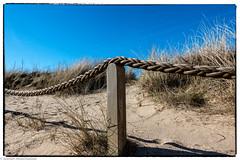 Sylt Impressionen - Fenced Friday - Zaun auf dem Roten Kliff (J.Weyerhäuser) Tags: heide watt braderup dünen eis sylt roteskliff kampen wenningstedt