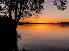 ...sunset, a glass of wine, and you.. (dawn.tranter) Tags: dawntranter wine you tranquil calm meditative silhouettes