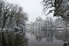 Le lac des Minimes (StephanExposE) Tags: paris iledefrance france stephanexpose eau water vincennes lac lake bois forest forêt neige snow white blanc canon 600d 1635mm 1635mmf28liiusm