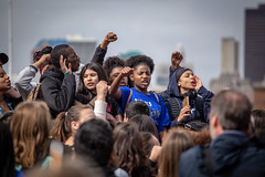 National School Walkout (Phil Roeder) Tags: desmoines iowa desmoinespublicschools nationalschoolwalkout guncontrol gunviolence protest rally iowastatecapitol students student canon6d canonef70200mmf4lusm