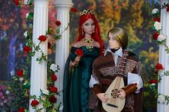 Fairytales (Rashmiel) Tags: diorama dioramascale16 gazebo integritytoys integrity fashionroyalty kyori ooak obitsu
