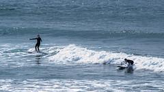 Dude! (LadyBMerritt) Tags: surfers surf surfing pacific wave oregon indianbeach coastal