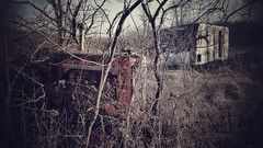 the case in point.... (BillsExplorations) Tags: tractor case camper abandoned decay forgotten antique old ruraldecay lost oldtractor abandonedillinois farm mtcarroll machinery weathered