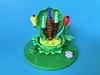 Micro castle elves (Alego37) Tags: flowers château castle micro elves moc lego