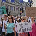 Trump protest, London 13 July 2018 thumbnail