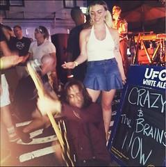 Crazy & the Brains (JasonLee) Tags: streetphotography jerseycity rockandroll takingittothestreets rawk guitarshredding isawherstandingthere