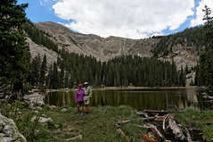 us (rovingmagpie) Tags: newmexico santafe santafenationalforest nambelake alpine lake summer2018 11300feet