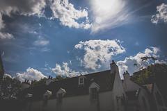 Sky over Cramond (Herdstar) Tags: edinburgh forthroadbridge forth railway bridge