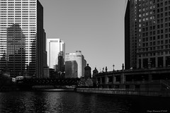 Chicago River Afternoon (CoreyBourassaPhoto) Tags: chicago finepix fuji fujifilm spring x100f architecture city outdoors street