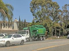 WM Garbage Truck 7-24-18 (1) (Photo Nut 2011) Tags: california garbage garbagetruck trashtruck sanitation wastedisposal refuse waste trash junk wm wastemanagement 105783 orangecounty