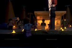 Paprihaven 1412 (MayorPaprika) Tags: canoneos50d mini figs figure paprihaven pvc miniature smallscale figurine diorama toy story scene custom bricks plastic vinyl lego minifigs disney cars sallyscozyconemotel