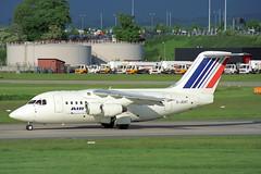 G-JEAT British Aerospace 146-100 Air France (pslg05896) Tags: gjeat bae146 airfrance jerseyeuropean bhx egbb birmingham elmdon