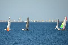 800_4742 (Lox Pix) Tags: queensland qld australia catamaran trimaran hyc humpybongyachtclub winterbash loxpix foilingcatamaran foiling bramblebay sailing race regatta woodypoint boat