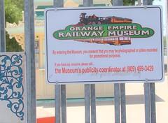 Orange Empire Railway Museum, Perris - Entrance (ramalama_22) Tags: orange empire railway museum perris riverside county california