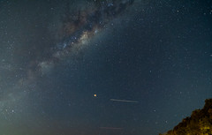 Milky Way and Mars (Merrillie) Tags: science galaxy natural landscape milkyway starry nature australia nighttime star astrology astro space nsw starlight mars astronomy planetary outerspace vast planet universe sky night nightscape planes astrophotography stars