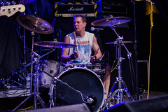 Ghost Of The Avalanche, Cheese & Grain 04-08-2018 24 (Matt_Rayner) Tags: cheesegrainfrome punk concert live ghostoftheavalanche drummer