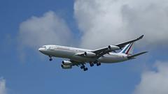 République Française (ƒliçkrwåy) Tags: 75 fraja airbus a340 a340212 a340200 aircraft military transport aviation cdg lfpg