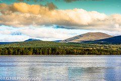 scottish highlands loch 2 (T.g.h.photography) Tags: scotland mountains loch lake water blue clouds cloudy trees forest highlands woodland coast landcape nikon photography cloudscape scenery