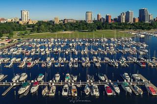 Docks in Milwaukee