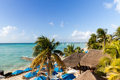 Beach of Isla Mujeres Mexico