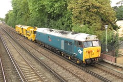 50008 and DR80207 Shortlands (localet63) Tags: class50 shortlands stoneblower dr80207 50008 6z45 harsco