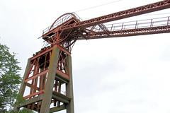 Bestwood headstock (jpotto) Tags: uk nottinghamshire bestwood colliery windingwheel pithead industrial eastmidlands headstock victorian coal mining coalmining