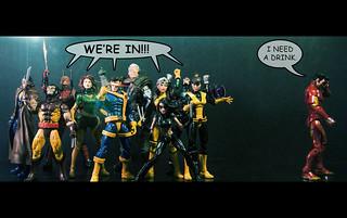 Marvel Legends Mutant Celebration!