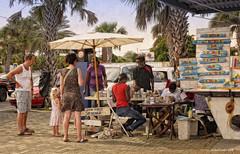 Souvenier Painting - Curacao (Mike Cordey) Tags: willemstad curacao souvenier hunter maker seller market stall dutch antilles caribbean