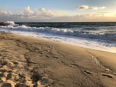 iPhone Series - Waves (moskatomika) Tags: tirreniansea tirreno sunset surf sand spiaggia beach water wind ocean clouds southitaly suditalia capovaticano iltalia italy calabria waves onde mare sea